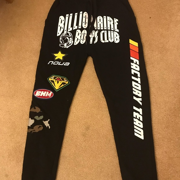 Billionaire Boys Club BB Sweats Black Sz S-XXXL NWT Free Shipping MSRP $130